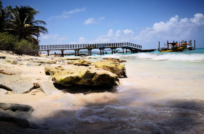 Johnny Cay Rolling San Andrés - Vista al Muelle