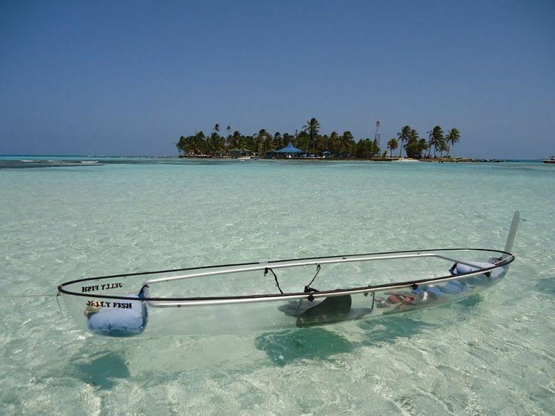 manglares Kayak Rolling San Andrés 19