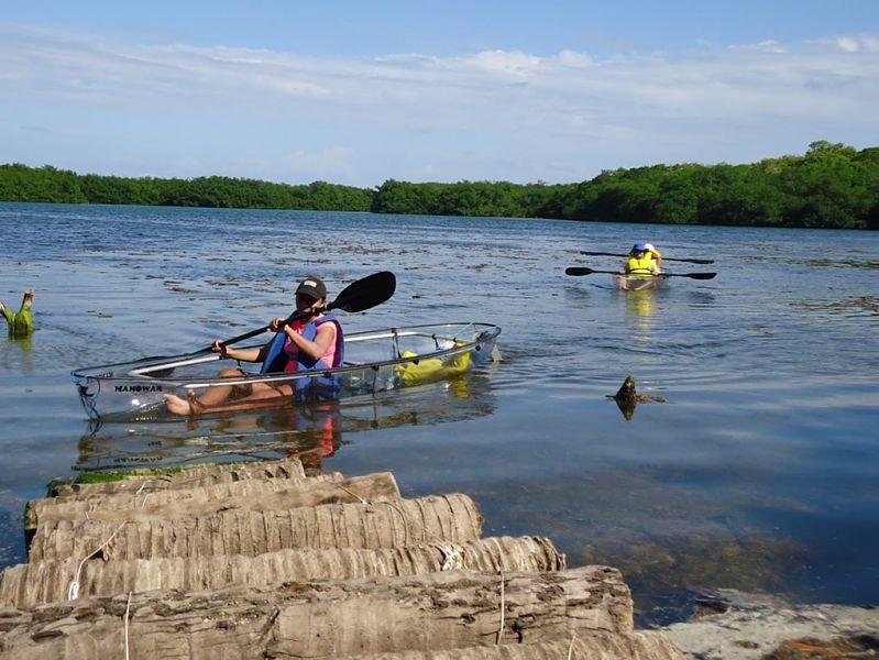 manglares Kayak Rolling San Andrés 6