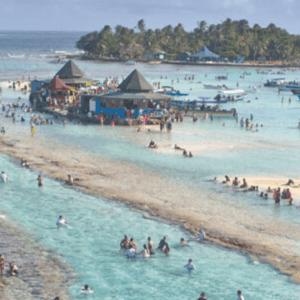 Cayo Acuario y Mantarrayas
